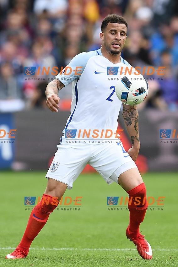 Kyle Walker <br /> Lens 16-06-2016 Stade Bollaert-Delelis Footballl Euro2016 England - Wales / Inghilterra - Galles Group Stage Group B. Foto Matteo Gribaudi / Image Sport / Insidefoto