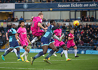 during the Sky Bet League 2 match between Wycombe Wanderers and Hartlepool United at Adams Park, High Wycombe, England on 26 November 2016. Photo by Andy Rowland.