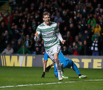 Stuart Armstrong scores his first goal and celebrates