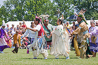Dancing in full Regalia, at the Nanticoke Lenni-Lenapi Indian Pow Wow
