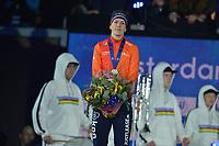 SCHAATSEN: AMSTERDAM: Olympisch Stadion, 10-03-2018, WK Allround, Coolste Baan van Nederland, Final Podium Ladies, Ireen Wüst (NED), ©foto Martin de Jong