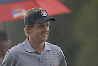 23rd September, 2006. European Ryder Cup Team player Luke Donald on the 15th green during the afternoon foursomes session of the second day of the 2006 Ryder Cup at the K Club in Straffan, County Kildare in the Republic of Ireland..Photo: Eoin Clarke/ Newsfile.