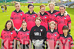 Cahir National School under 12 team Primary Schools Football Finals at Austin Stack park on Thursday, Front row from left: Niamh Murphy, Caoimhe Randalls, Saoirse Hayes, Ava Donovan and Kelly Cassidy, Back row from left: Cathy Riordan, Chloe Randalls, Melenie Borst, Siobhan O'Shea and Georgia O'Brien.