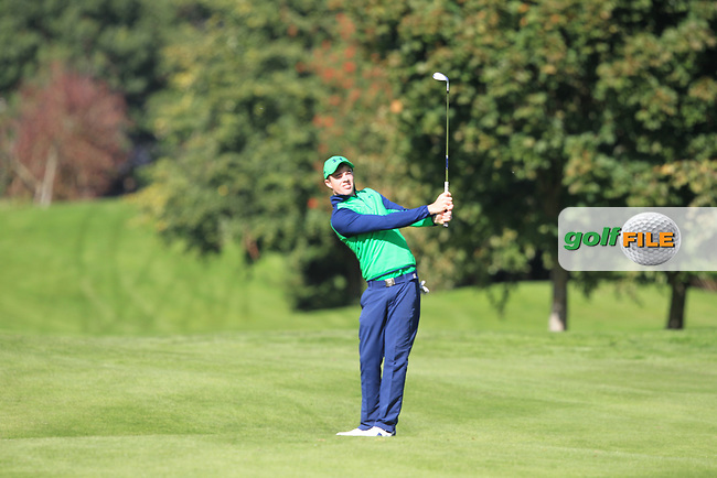 Stewart Grehan (IRL) during round 1 of the Irish Challenge, Mount Wolseley Hotel and Golf Resort, Tullow, Co Carlow, Ireland 14/09/2017<br /> Picture: Fran Caffrey / Golffile<br /> <br /> All photo usage must carry mandatory copyright credit (&copy; Golffile | Fran Caffrey)