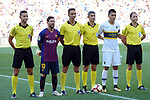 53e Trofeu Joan Gamper.<br /> FC Barcelona vs Club Atletico Boca Juniors: 3-0.<br /> Brull Acerete, Lionel Messi, Prieto Lopez, Undiano Mallenco, Paolo Golts &amp; Alonso Fernandez.