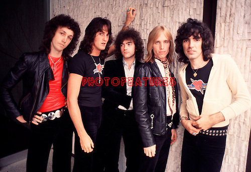 Tom Petty and Heartbreakers 1977.© Chris Walter.