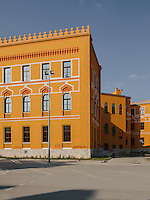 The Old Gymnasium is one of a fine example of the architecture from the Austro-Hungarian occupation. It blended the west and the oriental architectural style.