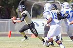 Palos Verdes, CA 09/13/13 - Ian Escutia (Peninsula #2) in action during the Culver City vs Palos Verdes Peninsula High School Varsity Football game at Palos Verdes Peninsula HIgh School.