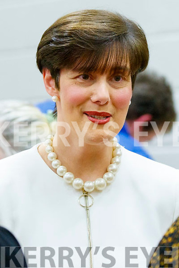 Norma Foley,Fianna Fáil pictured at the count centre in Killarney on Sunday last.