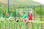 Castleisland F.C. v's Iveragh Utd F.C. in the Castlebar League Cup saw Island go through to the next round, Stephen Bartlett goal keeper for Castleisland makes a great save to prevent an equaliser  Castleisland 2 - Iveragh 1.