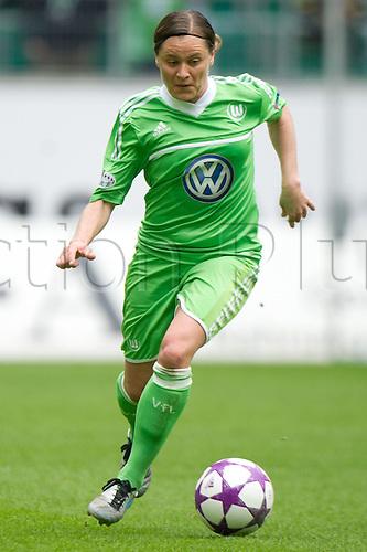 21.04.2013. Wolfsburg, Germany. Womens Champions League, Wolfsburg versus Arsenal, second leg.   Wolfsburgs Martina Mueller