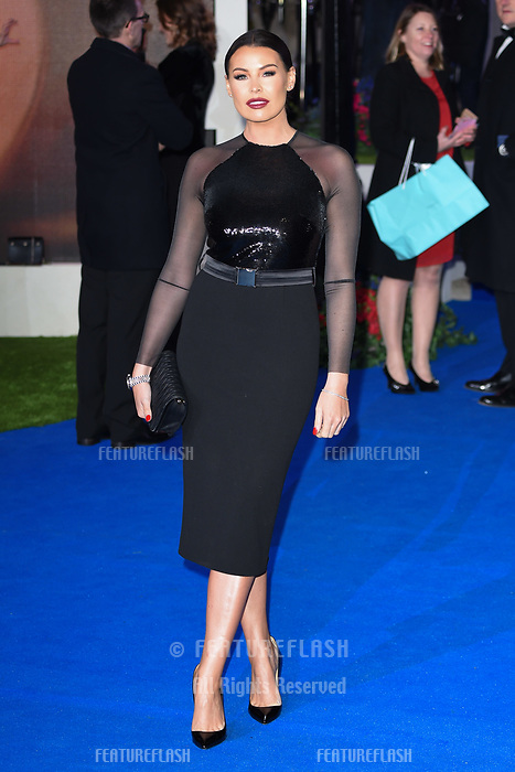 """LONDON, UK. December 12, 2018: Jessica Wright at the UK premiere of """"Mary Poppins Returns"""" at the Royal Albert Hall, London.<br /> Picture: Steve Vas/Featureflash"""