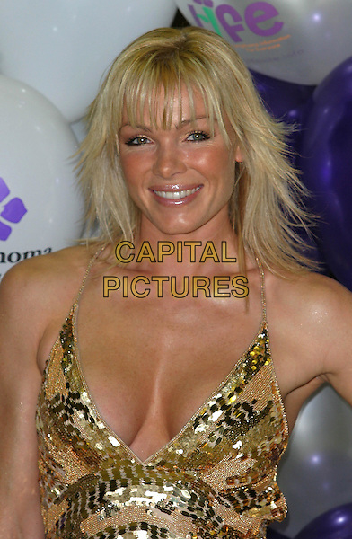NELL MCANDREW .Launching A New Unique Website For Young Cancer Sufferers, Hosted At the Atrium, London.Ref: Ten.headshot, portrait, plunging neckline, cleavage.www.capitalpictures.com.sales@capitalpictures.com.©Capital Pictures