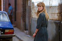 BEIRUT (2018)<br /> Rosamund Pike stars as Sandy Crowder<br /> *Filmstill - Editorial Use Only*<br /> CAP/FB<br /> Image supplied by Capital Pictures