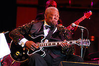 B B King at silverstar casino sat sept 20,2008. ALL IMAGES ©SUZI ALTMAN. IMAGES ARE NOT PUBLIC DOMAIN. CALL OR EMAIL FOR LICENSE, USE, OR TO PURCHASE PRINTS 601-668-9611 OR EMAIL SUZISNAPS@AOL.COM(Photo/Suzi Altman) Indianola Mississippi- Multi Grammy winner and legendary blues guitarist B.B. King plays his hometown crowd outside his museum the  B.B. King Delta Interpretive Center and Museum. Photo© Suzi Altman