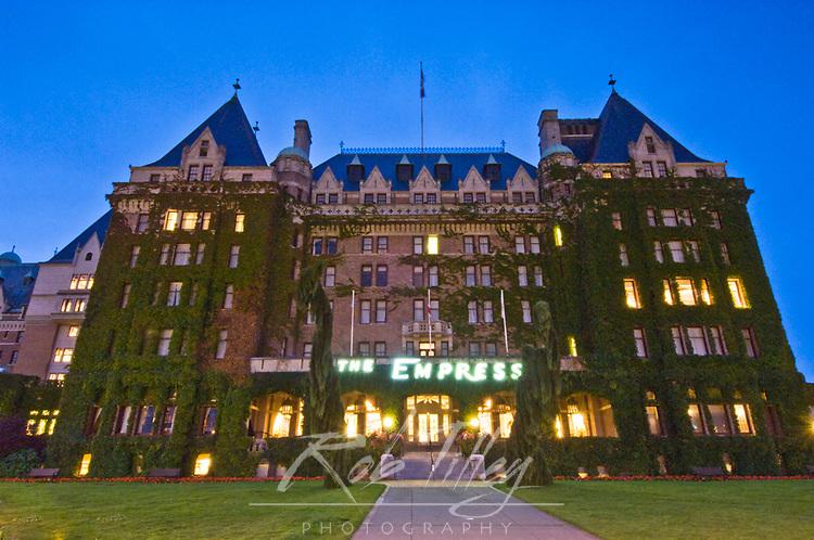 Canada, British Columbia, Victoria, Empress Hotel