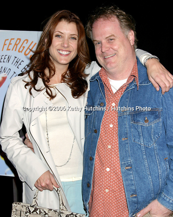 "Kate Walsh and her.Brother Joe Walsh.Craig Ferguson Book Release Party .""Between the Bridge and the River"".Tropicana Bar at the Roosevelt Hotel.Los Angeles, CA.April 10, 2006.©2006 Kathy Hutchins / Hutchins Photo...."
