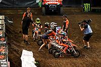 KTM Mini Challenge / SX50<br /> Monster Energy Aus-XOpen<br /> Supercross &amp; FMX International<br /> Qudos Bank Arena, Olympic Park NSW<br /> Sydney AUS Sunday 12  November 2017. <br /> &copy; Sport the library / Jeff Crow