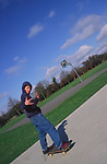 ADFTK1 Boy skateboarding