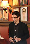 Justin Peck during the 2018 Outer Critics Circle Theatre Awards presentation at Sardi's on May 24, 2018 in New York City.