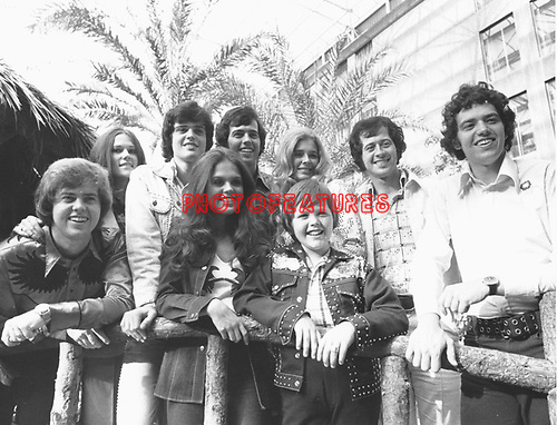 Osmonds 1974.© Chris Walter.