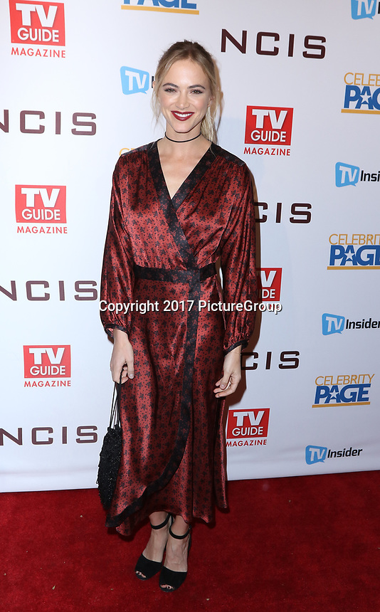 """STUDIO CITY, CA - NOVEMBER 6: Emily Wickersham attends the TV Guide Magazine Cover Party for Mark Harmon and 15 seasons of the CBS show """"NCIS"""" at River Rock at Sportsmen's Lodge on November 6, 2017 in Studio City, California. (Photo by JC Olivera/PictureGroup)"""