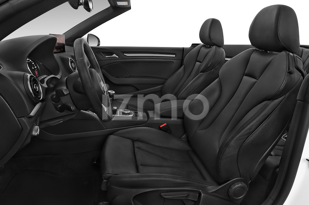 Front seat view of 2015 Audi A3 Ambition 2 Door Convertible 2WD Front Seat car photos