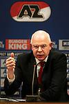 Nederland,Alkmaar, 8 december  2012.Eredivisie.Seizoen 2012/2013.AZ_Willem II.Toon Gerbrands AZ Directeur
