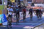 World Champion Peter Sagan (SVK) Bora-Hansgrohe wins Stage 3 of the 2017 Tirreno Adriatico running 204km from Monterotondo Marittimo to Montalto di Castro, Italy. 10th March 2017.<br /> Picture: La Presse/Gian Mattia D'Alberto | Cyclefile<br /> <br /> <br /> All photos usage must carry mandatory copyright credit (&copy; Cyclefile | La Presse)
