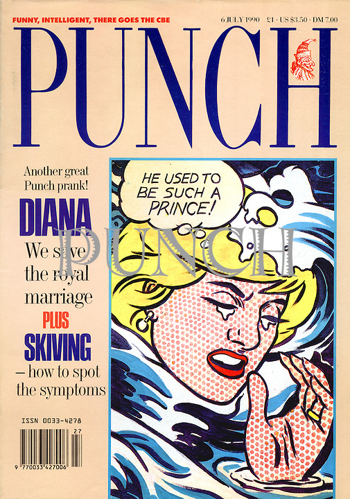 Punch. He used to be such a prince! (Front cover, 6 July 1990)