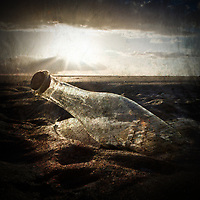 SHIP IN A BOTTLE - Delivered as 1535 x 1535 pixels at 300dpi