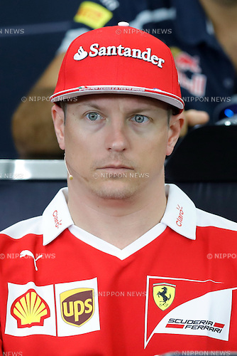 Kimi Raikkonen (FIN), <br /> OCTOBER 6, 2016 - F1 : Japanese Formula One Grand Prix <br /> at Suzuka Circuit in Suzuka, Japan. (Photo by Sho Tamura/AFLO SPORT) GERMANY OUT
