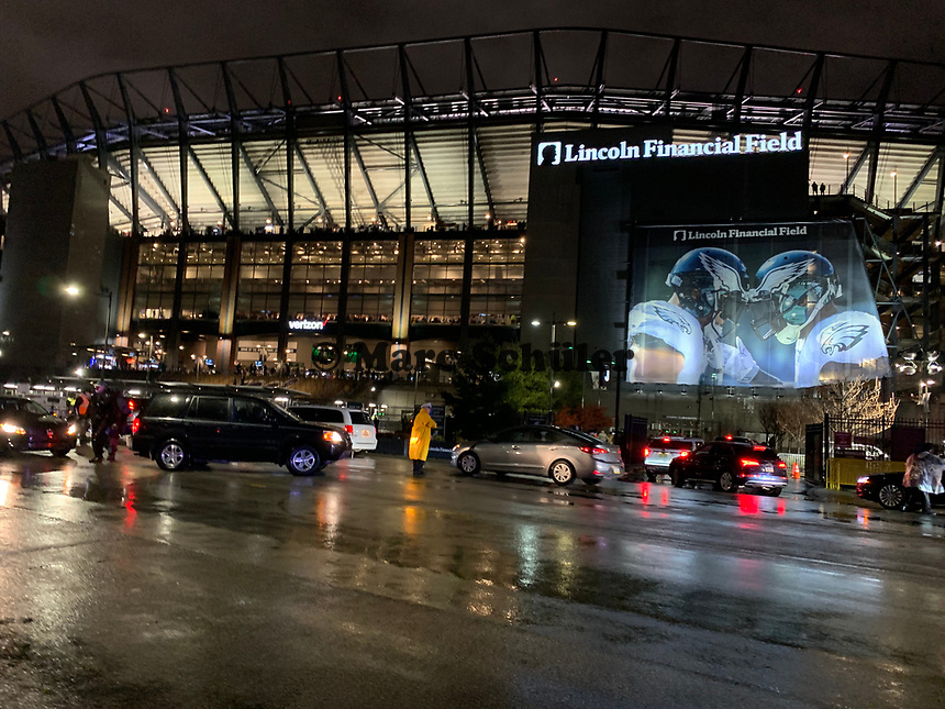 Lincoln Financial Field - 09.12.2019: Philadelphia Eagles vs. New York Giants, Monday Night Football, Lincoln Financial Field