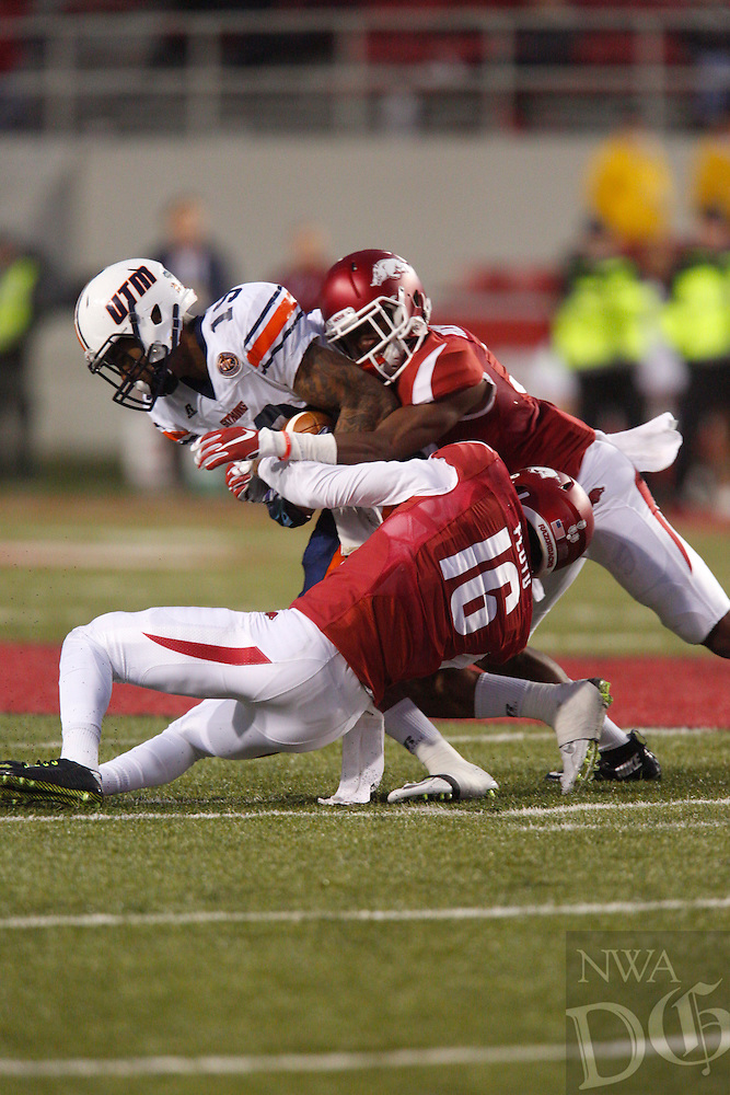 HAWGS ILLUSTRATED JASON IVESTER --10/31/2015--<br /> Arkansas vs Tennessee-Martin football