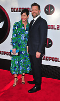 Bronx, NY - May 14: Kelly McCormick, David Leitch attends the 'Deadpool 2' screening at AMC Loews Lincoln Square on May 14, 2018 in New York City..  <br /> CAP/MPI/PAL<br /> &copy;PAL/MPI/Capital Pictures