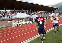 Prima seduta di allenamento per  Gonzalo Higuain  durante <br /> ritiro precampionato Napoli Calcio a  Dimaro 27 Luglio 2015