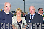 INVITED: Joe O'Sullivan (KOR), Jacqueline and Ger Reidy (Austin Stack Club) who were invited to the official opening of the New Football pitch Pa?irc Ui? Ealaithe, Ballricard, Tralee on Saturday..   Copyright Kerry's Eye 2008
