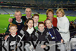 At the Intermediate Football Club Championship Final in Croke Park on Saturday evening were, front row l-r: Padraig, Aine, Diarmuid and Brendan OConnor. Back row l-r: Paddy and Tommy OConnor, Eoghan Fogarty, Mary OConnor and Mary OConnor (all from Ardfert)..