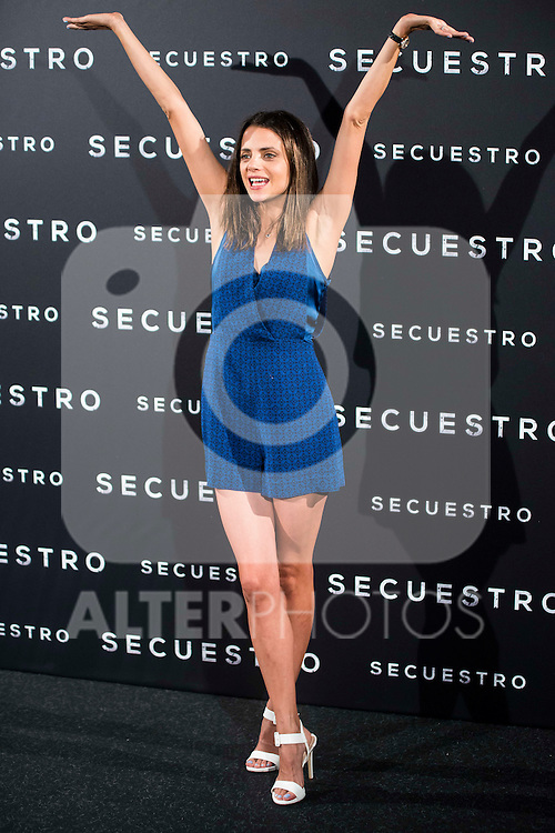 "Macarena Gomez during the presentation of the spanish film ""Secuestro"" in Madrid. July 27. 2016. (ALTERPHOTOS/Borja B.Hojas)"