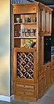 Custom Built Kitchen Wine Cabinet