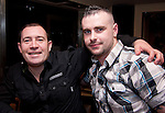 Kevin Commons and Ken Hughes enjoying a night out in Barocco...Picture: Shane Maguire/Newsfile