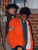 Fairfax, VA - January 14, 2003 -- John Lee Malvo departs Fairfax Court after a pre-trial hearing in Fairfax, VA on January 14, 2003.<br /> Credit: Ron Sachs / CNP<br /> (RESTRICTION: NO New York or New Jersey Newspapers or newspapers within a 75 mile radius of New York City)