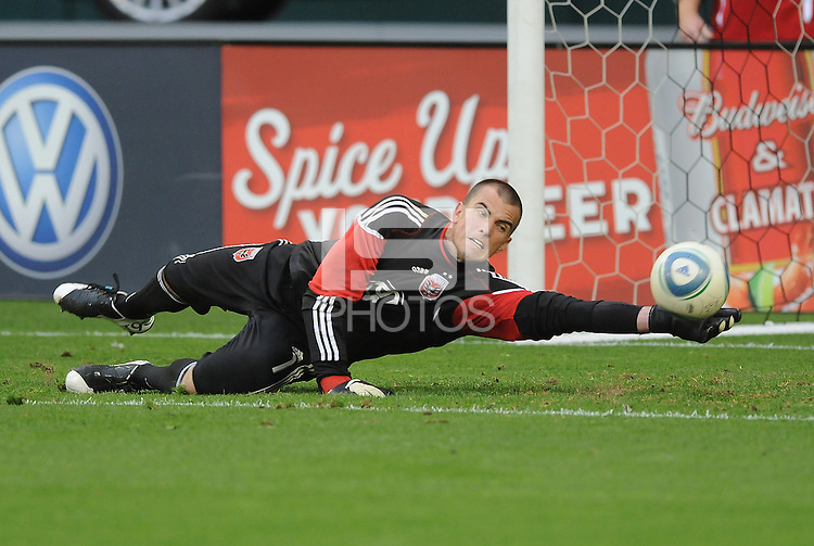 DC United goalkeeper Steve Cronin (1)     DC United tied The Colorado Rapids 1-1, at RFK Stadium, Saturday  May 14, 2011.
