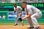 8 June 2008: San Francisco Giants' second baseman Ray Durham in action against the Washington Nationals at Nationals Park in Washington, DC. The Giants rallied to defeat the Nationals 6-3 in their third consecutive win of the 4-game series...Mandatory Photo Credit: Ed Wolfstein Photo