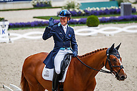 AUS-Andrew Hoy rides Vassily de Lassos during the SAP Cup - CICO4*-S Nations Cup Eventing Dressage. 2019 GER-CHIO Aachen Weltfest des Pferdesports. Friday 19 July. Copyright Photo: Libby Law Photography