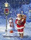 Marcello, CHRISTMAS SANTA, SNOWMAN, WEIHNACHTSMÄNNER, SCHNEEMÄNNER, PAPÁ NOEL, MUÑECOS DE NIEVE, paintings+++++,ITMCXM1633A,#x#