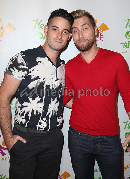 "05 October 2017 - Los Angeles, California - Michael Turchin, Lance Bass. ""The Road To Yulin And Beyond"" Los Angeles Premiere. Photo Credit: F. Sadou/AdMedia"