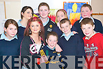 Pupil power: Enjoying their Junior Certificate School's Programme end of year party last Thursday at the Listowel Community College were front l-r Mary Ahern, Rachel Wilmott, Gearoid Brouder, Paul Stack and James Relihan. Back l-r Michelle Murphy, Niel Evans, April Twomey and Donal Keane.   Copyright Kerry's Eye 2008