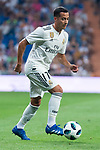 Real Madrid Lucas Vazquez during Santiago Bernabeu Trophy match at Santiago Bernabeu Stadium in Madrid, Spain. August 11, 2018. (ALTERPHOTOS/Borja B.Hojas)