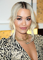BEVERLY HILLS - JANUARY 24:  Rita Ora at Giuseppe Zanotti And Rita Ora Shoe Collection Launch at the Saks Fifth Avenue Beverly Hills on January 24, 2019, in Beverly Hills, California. (Photo by Xavier Collin/PictureGroup)